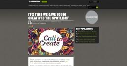 call to create site