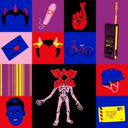 tudum festival netflix illustrations