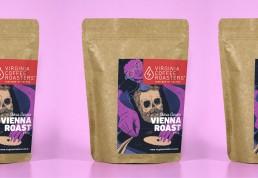 viriginia roasters label
